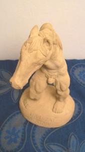 Inverzní Kentaur - ruční práce - umělý pískovec