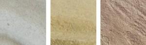 Vzorník barev - umělý pískovec